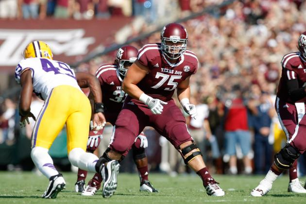 Texas A&M OL Jake Matthews Will Stay in School for Senior Season