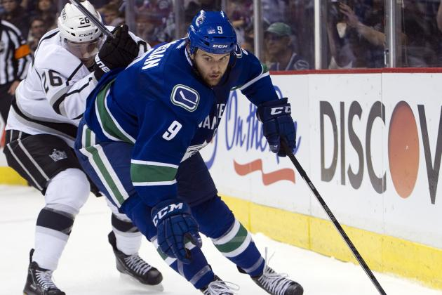 Kassian on Sedins' Line a Canucks Experiment Worth Trying