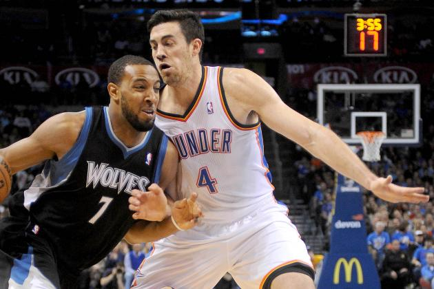 Nick Collison Just Wants to Do His Job