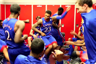 Ben McLemore Dancing in the Locker Room After Hitting the Game-Tying Shot