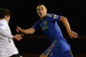 Boost for Benitez as Chelsea Captain Terry Returns from Injury