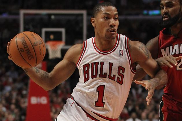 Derrick Rose: Star's Imminent Return Doesn't Make Bulls Favorite in East