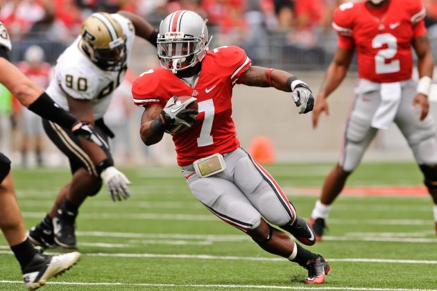 Ohio State Football: Jordan Hall Gets Medical Redshirt, Will Return in 2013