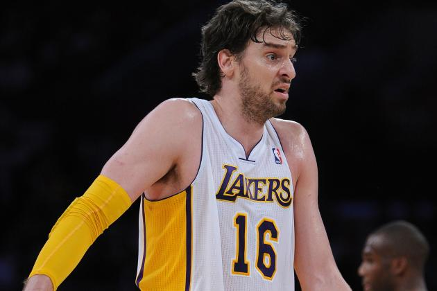 Pau Gasol Still Not Cleared to Return from Concussion