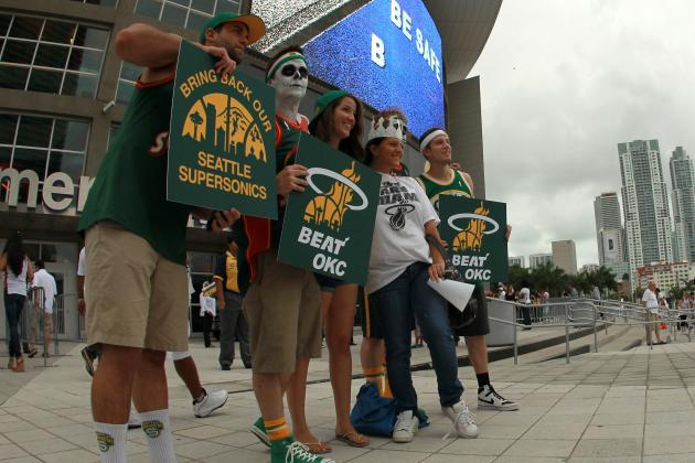 Seattle Supersonics: Rivalries That Will Emerge from Team's Possible Return