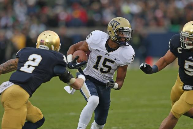 Pitt WR Street to Return to Panthers for Senior Season