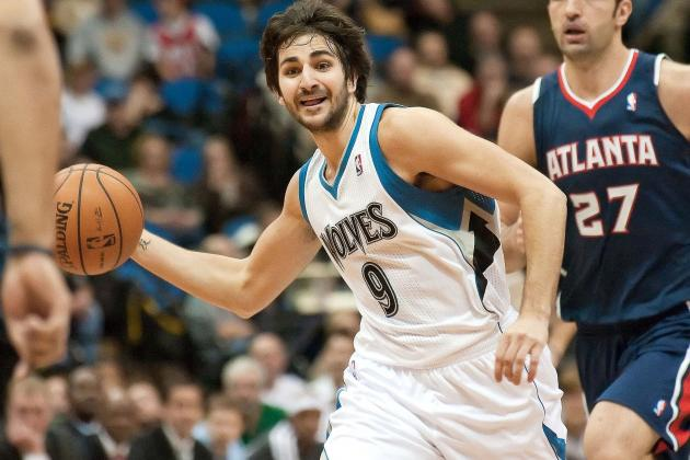 Ricky Rubio throws a sick pass between his own legs(VIDEO)