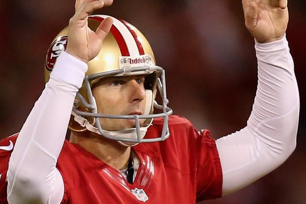 David Akers Will Kick for the 49ers Saturday