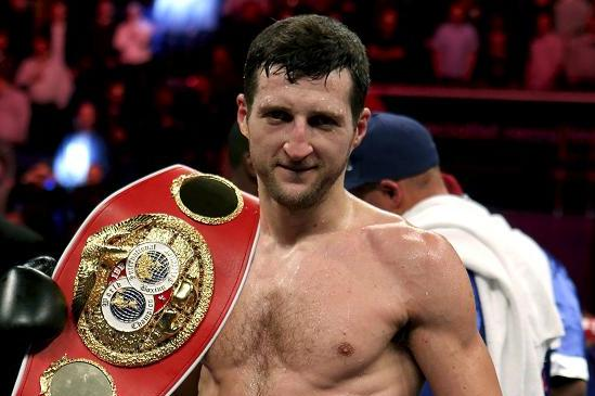 Froch Jawing at Stevenson on Eve of Kessler Bout