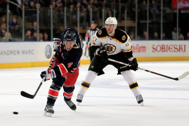 Bruins Will Host Rangers on Jan. 19