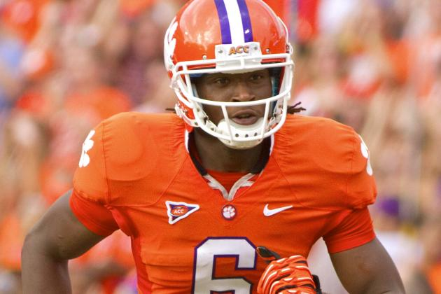 Clemson WR DeAndre Hopkins Officially Enters NFL Draft