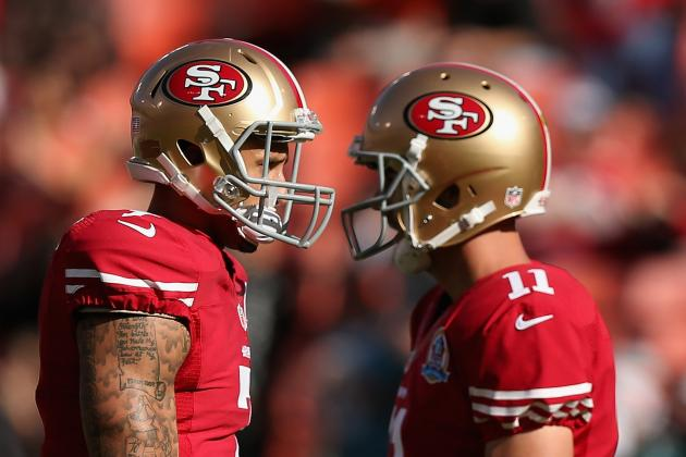 Smith Stays Ready Behind Kaepernick