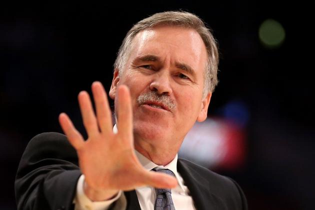 Mike D'Antoni Cracks Joke About Jumping Off Building