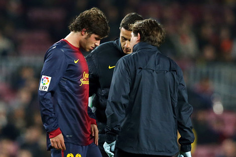 Sergi Roberto out of Action for Four Weeks
