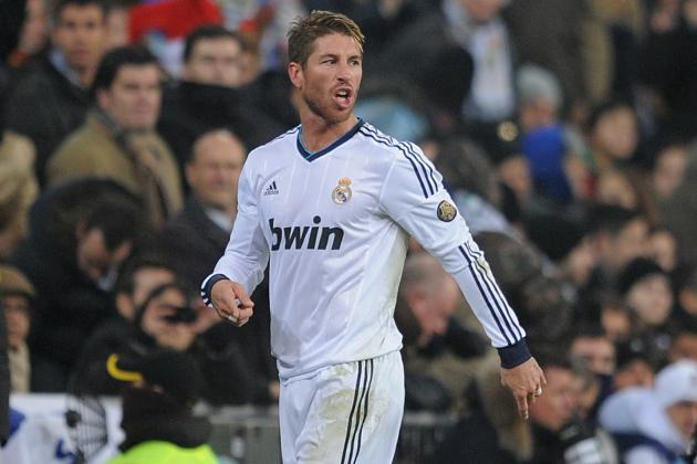 Sergio Ramos Receives 5-Match Ban After Insulting Referee