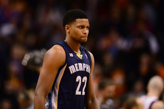 NBA Trade Rumors: Grizzlies Would Be Foolish to Deal Rudy Gay Before Summer