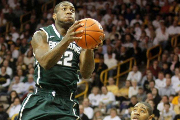 No. 22 Michigan State Holds off Iowa 62-59
