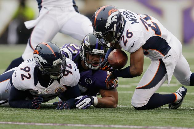 NFL Playoff Schedule 2013: Running Backs Who Will Struggle in Divisional Round