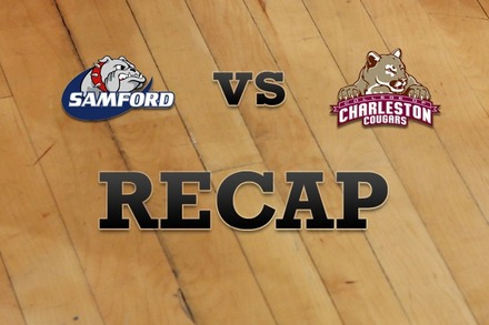 Samford vs. Charleston: Recap and Stats