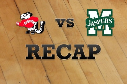 Rider vs. Manhattan: Recap and Stats