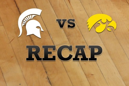 Michigan State vs. Iowa: Recap and Stats