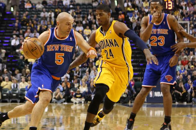 Pacers Win Ugly over Carmelo Anthony-Less Knicks