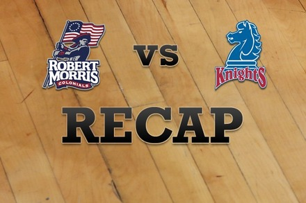 Robert Morris  vs. Fairleigh Dickinson: Recap and Stats