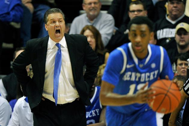 Kentucky vs. Vanderbilt: Wildcats Survive Commodore Rally to Win 60-58