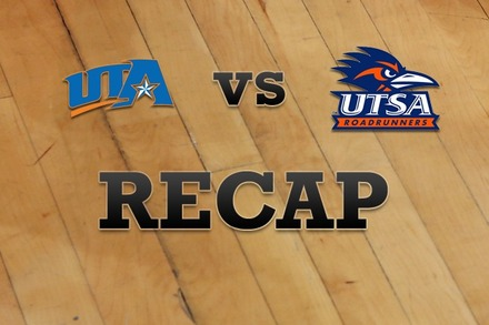 Texas-Arlington vs. Texas at San Antonio: Recap and Stats