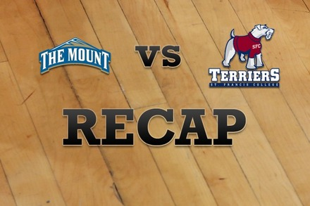 Mount St. Mary's vs. St. Francis (NY): Recap and Stats
