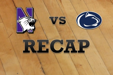 Northwestern vs. Penn State: Recap and Stats