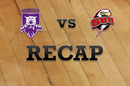 Weber State vs. Southern Utah: Recap and Stats
