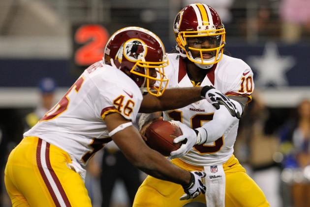 RGIII, Alfred Morris Among 6 Washington Redskins Named to All-NFC East Team