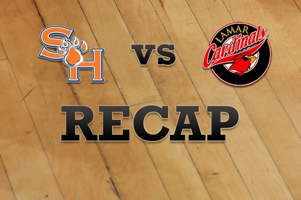 Sam Houston State vs. Lamar: Recap and Stats