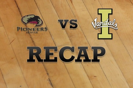 Denver vs. Idaho: Recap and Stats