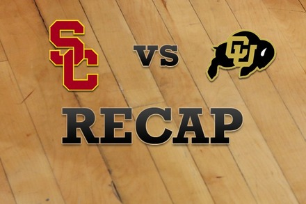 USC vs. Colorado: Recap and Stats