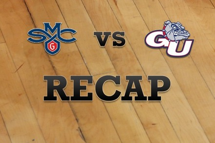 Saint Mary's vs. Gonzaga: Recap and Stats