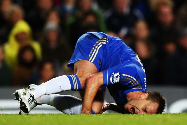 Chelsea's Terry Back from Injury