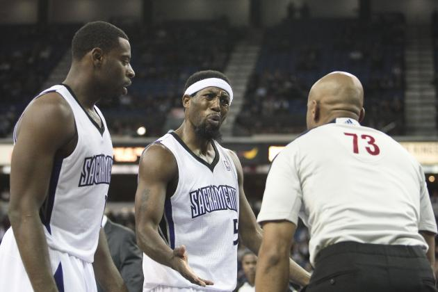 Kings Fall to Mavericks in OT; Cousins Ejected for Late Forearm