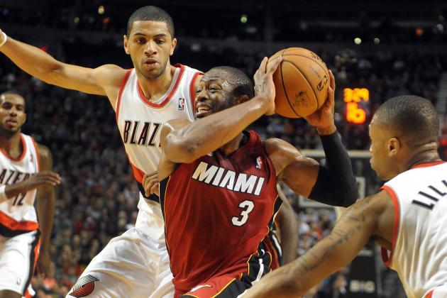Trail Blazers Rally to Stop Miami Heat, LeBron James' Streak