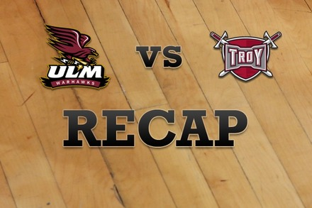 Louisiana-Monroe vs. Troy: Recap and Stats