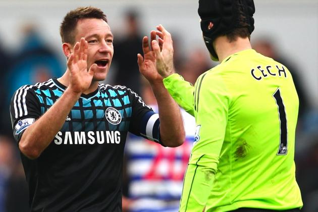Petr Cech and John Terry Will Return for Chelsea's Clash with Stoke City