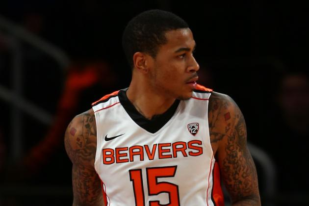 OSU Men's Basketball:Without Moreland, Beavers Fall to Sun Devils