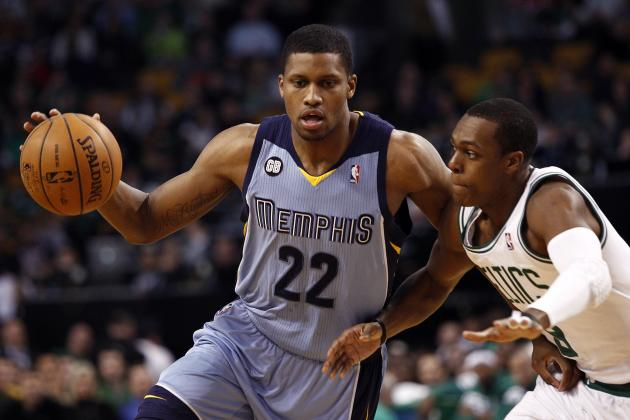 NBA Rumor: Rajon Rondo Wants Rudy Gay on the Boston Celtics