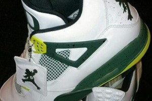 Pic: Oregon Basketball Team's Sick Shoes with Custom Jumpman Logo