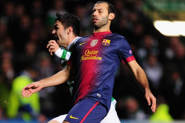 Striking Form Encourages Mascherano