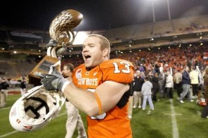 Former Oklahoma State DE Nathan Peterson Joins Cowboy Staff