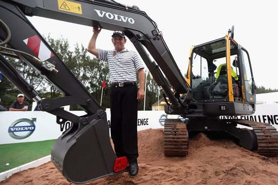 Louis Oosthuizen Can Dig His New Prize