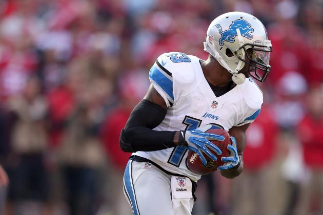 Detroit Lions' Nate Burleson Believes in Best Player Available Draft Strategy