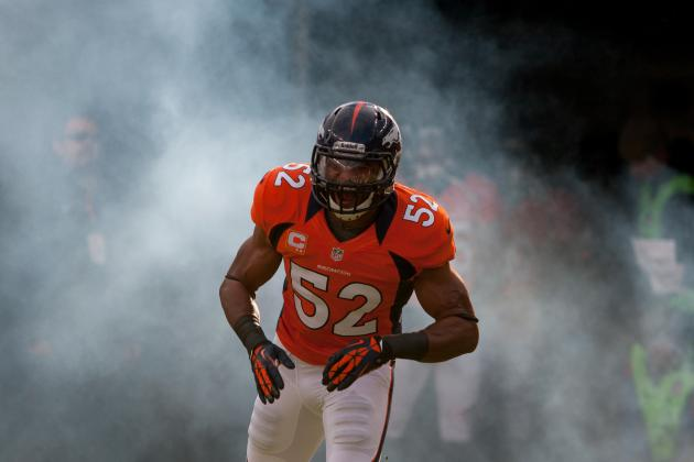 Broncos Linebacker Wesley Woodyard Is Inspirational Leader of Denver Defense